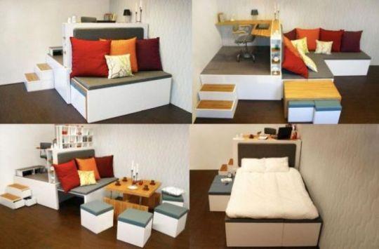 Modular furniture creates style and elegance used in the for Used modular furniture